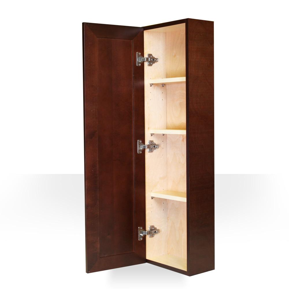 Dark Walnut Kitchen Cabinets: Dark Walnut Side Cabinet