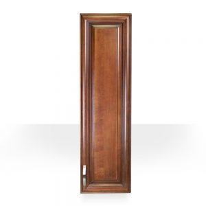 light walnut side cabinet