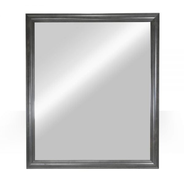 """42""""x36"""" grey mirror"""