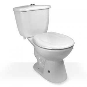 biscuit 2 piece toilet
