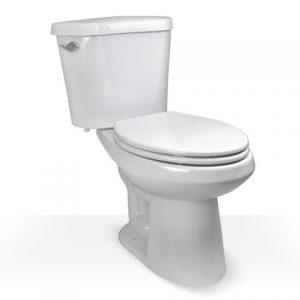 2 piece highmount toilet