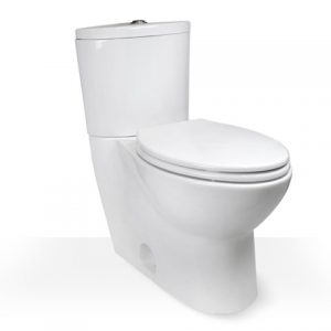 2 piece skirted comfort height toilet
