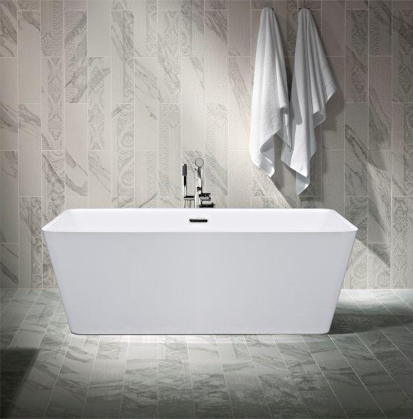 A1506-1500 Freestanding Rectangular Tub