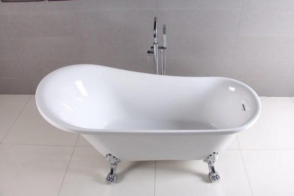 "59"" Clawfoot Freestanding Acrylic Tub"