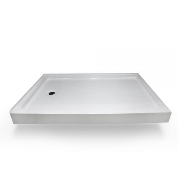 60x36 shower base left hand drain