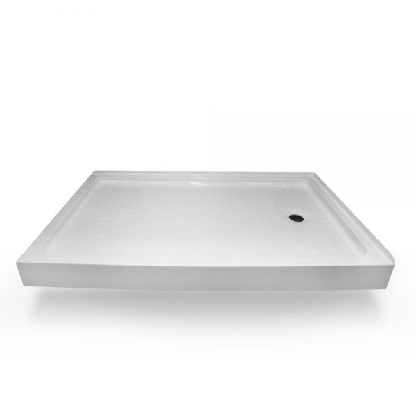 60x36 shower base right hand drain