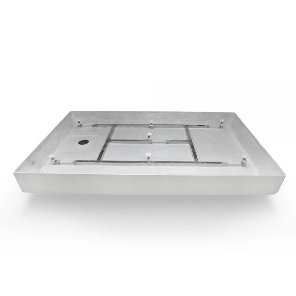 60x36 shower base left hand drain