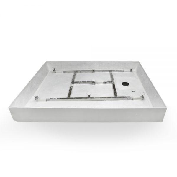 48x36 shower base right hand drain