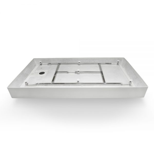 60x32 shower base left hand drain