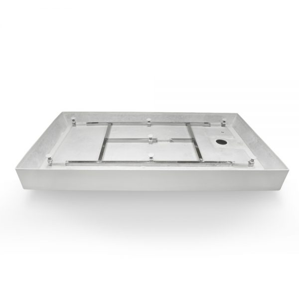 60x32 shower base right hand drain