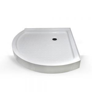 corner shower base