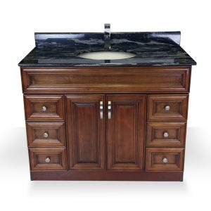"Light Walnut 42"" Vanity"