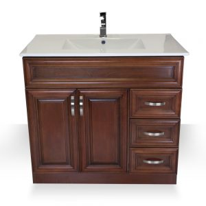 "Light Walnut 36"" Vanity"