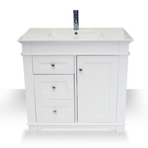 "36"" Newcastle Left Hand Drawer Vanity"