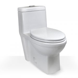 Comfort Height Skirted One Piece Toilet
