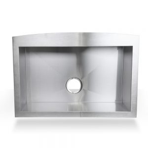 "30"" Single Stainless Steel Farmhouse Apron Sink"
