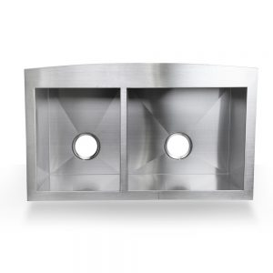 "33"" Sink and a Half Stainless Steel Farmhouse Apron Sink"