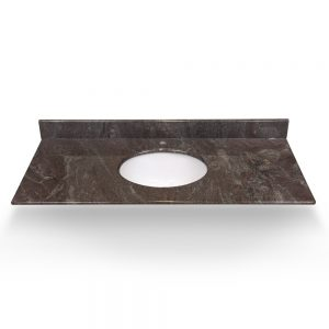 "49"" Paradiso Granite Round Sink With Granite Counter Top"