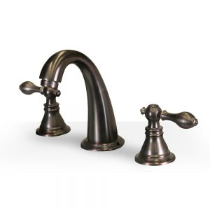 Classic Oil Rubbed Bronze Widespread Faucet