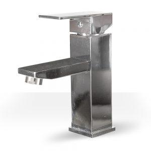 Chrome Square Single Lever Faucet