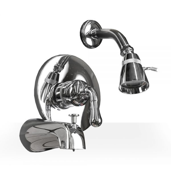 Chrome Bath & Shower Set