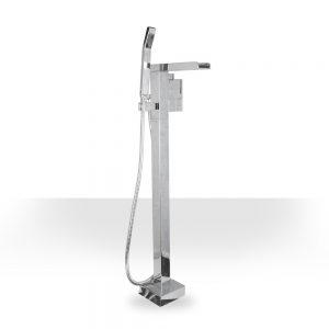 Chrome Waterfall Freestanding Tub Filler