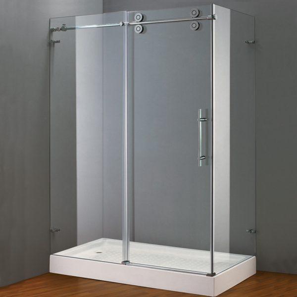 Frameless Sliding Door Shower Enclosure