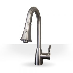 Classic Brushed Nickel Kitchen Faucet