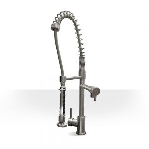Industrial Faucet with Pot Filler