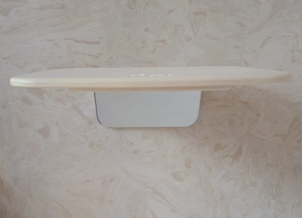 White Fold Up Shower Seat