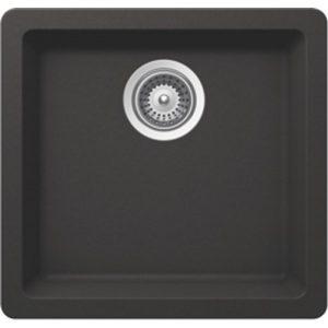 B306 Virtuo Granite Pearl Black Sinks - Single Bowl