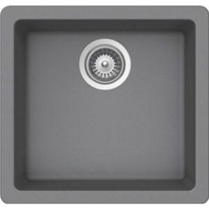 B308 Virtuo Granite Sinks Slate Grey - Single Bowl