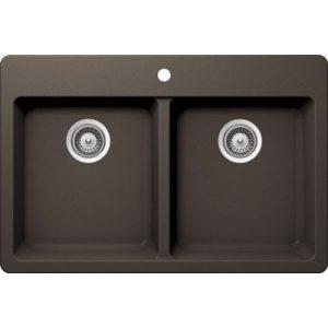 B313 - Coffee Brown Granite Topmount