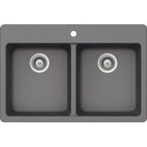 B314 - Grey Granite Topmount