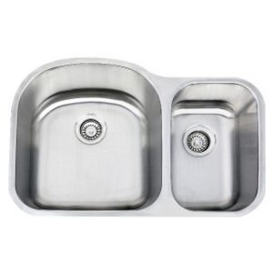 B409 16 Gauge Stainless Double Sink
