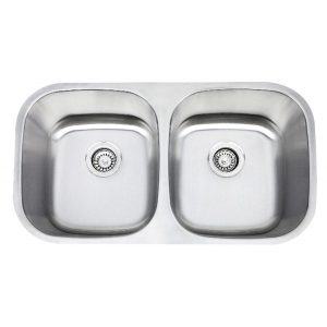 B411 16 Gauge Stainless Double Sink CA