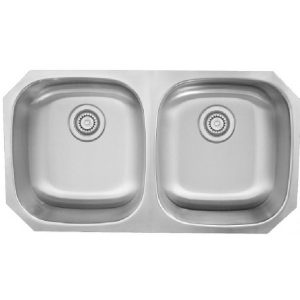 B803 Stainless Steel Undermount Double Bowl