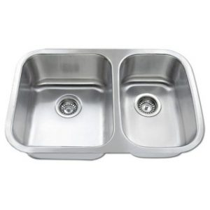 B804 Stainless Steel Undermount Double Bowl