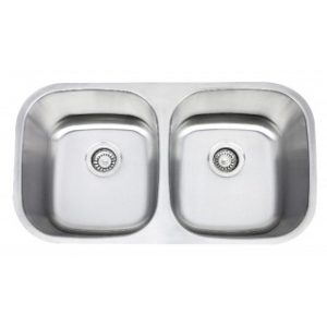 B811-8 Stainless Steel Undermount Double Bowl