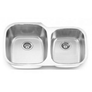 B814 Stainless Steel Undermount Double Bowl