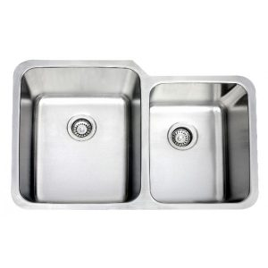B820 16 Gauge Stainless Double Sink
