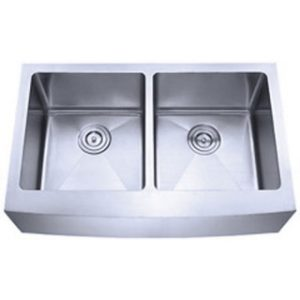 B925 Apron Front Double Sink with 15mm Radius Corners
