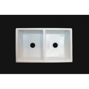 BF101 Fire Clay Double Sink