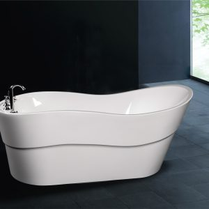 A1527 Freestanding Slipper Wave Tub