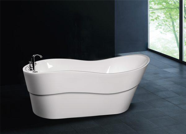 A1527 Freestanding Slipper Wave Tub