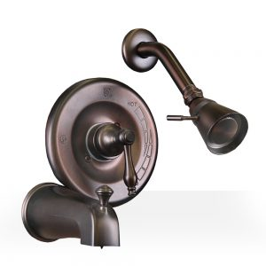 Oil Rubbed Bronze Tub/Shower Set