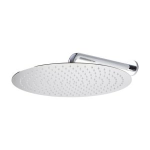 "16"" Round Brushed Nickel Rain Shower Head"