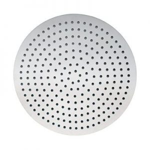 "20"" Round Brushed Nickel Rain Shower Head"